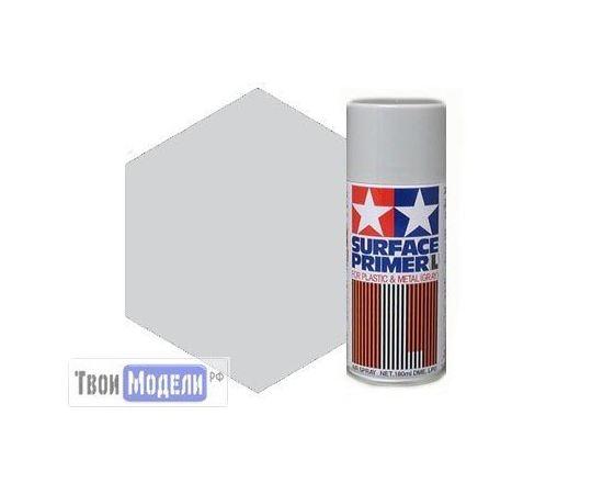 Необходимое для моделей Tamiya 87042 Грунтовка-спрей (серого цвета) 180мл tm00620 купить в твоимодели.рф