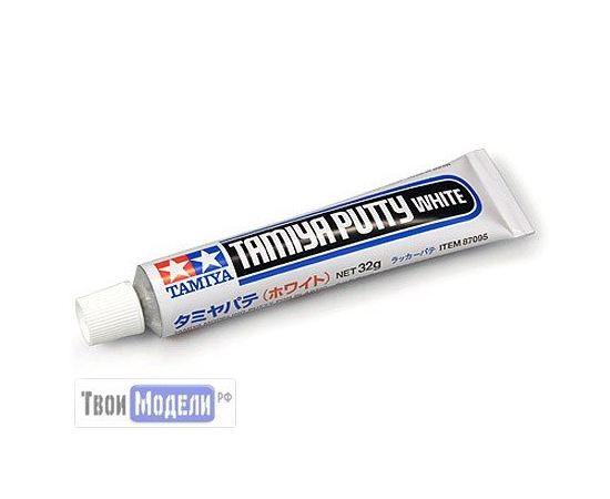 Необходимое для моделей Tamiya 87095 Шпаклевка белая 32гр  (Putty White) tm00601 купить в твоимодели.рф
