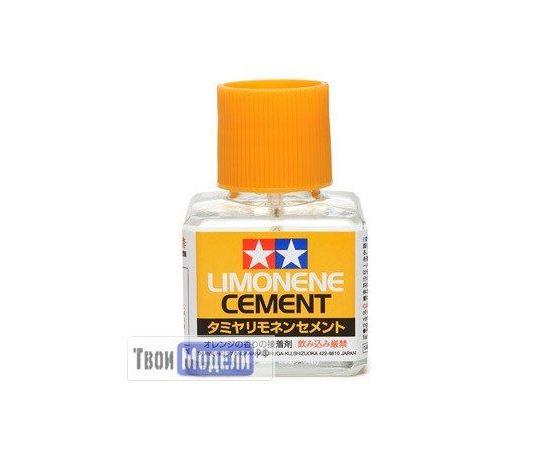 Необходимое для моделей Tamiya 87113 Жидкий клей с запахом лимона (40мл) tm00565 купить в твоимодели.рф