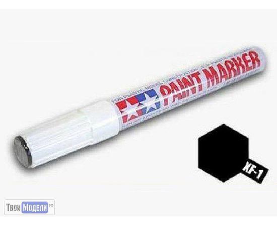 Необходимое для моделей Tamiya 89301 XF-1 Маркер матовый черный (Эмаль) # Краска эмалевая 10мл. tm00546 купить в твоимодели.рф