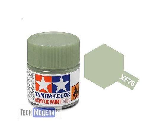 Необходимое для моделей Tamiya 81776 XF-76 Серо-зеленая (Gray Green IJN) #Краска-acrylic tm00475 купить в твоимодели.рф