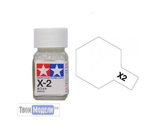 Необходимое для моделей Tamiya 80002 Х-2 Белый #Краска-эмаль tm00690 купить в твоимодели.рф