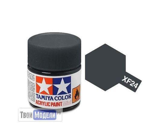 Необходимое для моделей Tamiya 81724 XF-24 Тёмно-Серый (Dark Grey) #Краска-acrylic tm00443 купить в твоимодели.рф