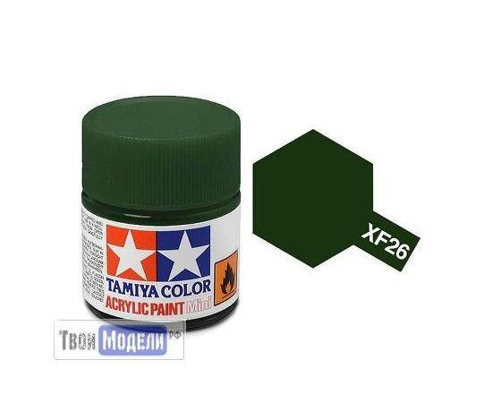 Необходимое для моделей Tamiya 81726 XF-26 Насыщенный Зелёный (Deep Green) #Краска-acrylic tm00444 купить в твоимодели.рф