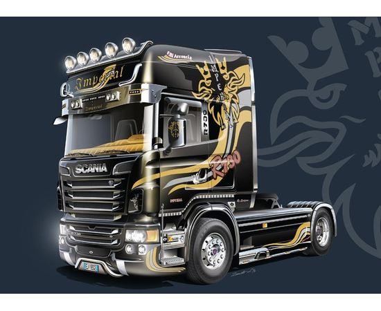 Склеиваемые модели  Italeri 3883 Scania R730 V8 Topline Imperial 1/24 tm07898 купить в твоимодели.рф