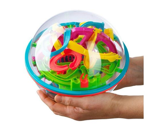 Игрушки для детей Головоломка Шар-Лабиринт 19см 138 шагов LB1901 tm08233 купить в твоимодели.рф