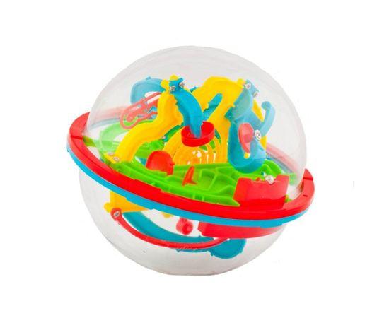 Игрушки для детей Головоломка Шар-Лабиринт 13см 100 шагов НВ047836 tm08916 купить в твоимодели.рф