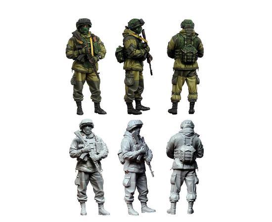 Склеиваемые модели  TM8550 Современный солдат России  1/35 [СМОЛА] tm08550 купить в твоимодели.рф