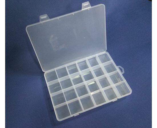 Оборудование для творчества JAS 184787 Коробочка для хранения  19,5 см × 13,5 см × 2,2 см tm09693 купить в твоимодели.рф