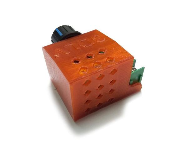 Arduino Kit ТМ-9201 Регулятор мощности, диммер 220В 2000 Ватт (в корпусе) tm09201 купить в твоимодели.рф