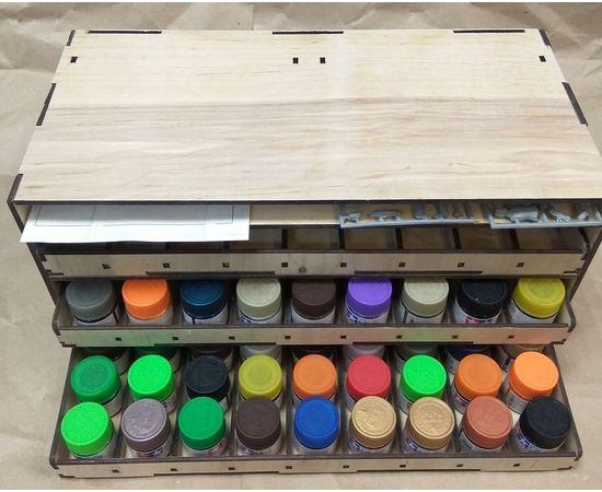 Оборудование для творчества Блок RSM-2T Органайзер для краски tamiya или mr. color tm09871 купить в твоимодели.рф