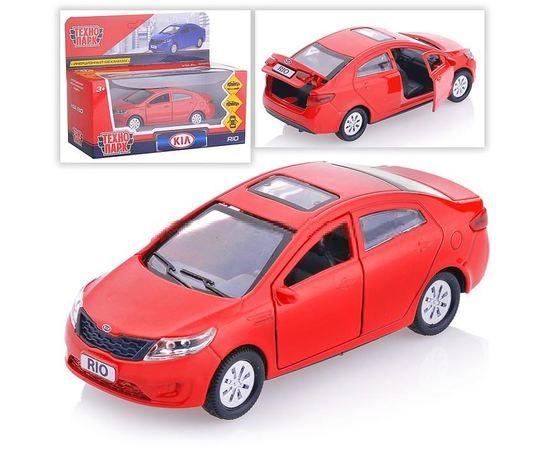Масштабные модели Автомобиль KIA RIO Технопарк RIO-MIX 1:36 (железная модель) tm09932 купить в твоимодели.рф