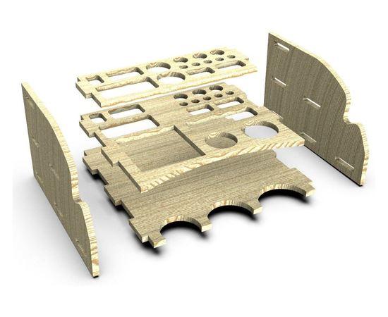 Оборудование для творчества Подставка для клея, краски и инструмента RSM-6P tm09870 купить в твоимодели.рф