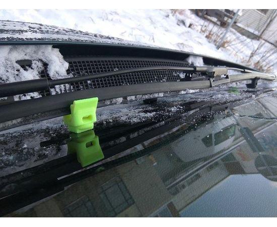 Готовые напечатанные 3D модели Защита щеток (дворники) лобового стекла автомобиля зимой 4 шт. tm03600 купить в твоимодели.рф
