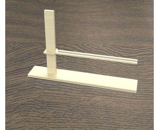 Изделия из дерева (фанеры) Направляющая для строительства стен + стойка+держатель [Дерево] ТМ-10219 tm10219 купить в твоимодели.рф