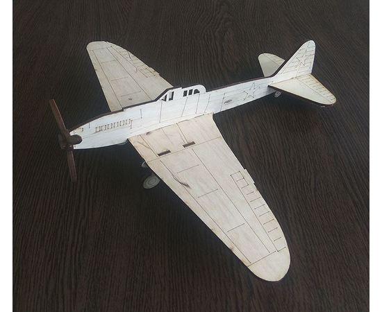 """Изделия из дерева (фанеры) ИЛ-2 самолет СССР из  дерева серия МПС """"Мой первый самолет"""" 3DLV-10291 tm10291 купить в твоимодели.рф"""