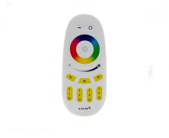 Бытовая электроника Пульт управления Mi-light FUT096, RGBW (RGB), радио 2.4 GHz, многозонный tm-19-8495 купить в твоимодели.рф