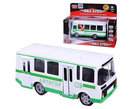 Коллекционные машинки Модель ПАЗ-3205 Заказной Технопарк 1:43 (автобус) tm-19-8552 купить в твоимодели.рф