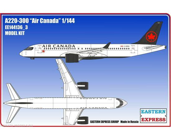 Склеиваемые модели  ЕЕ144136_3 Авиалайнер А220-300 Air Canadian (Limited Edition) 1/144 tm-19-8838 купить в твоимодели.рф