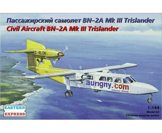 Склеиваемые модели  ЕЕ14491 BN-2A Trislander Aurigry Air Servicesт - самолёт 1/144 tm-19-8835 купить в твоимодели.рф