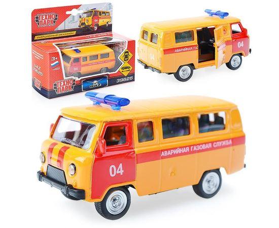 Коллекционные машинки Модель УАЗ 39625 Аварийная газовая служба Технопарк 6402D 1:43 tm-19-9001 купить в твоимодели.рф