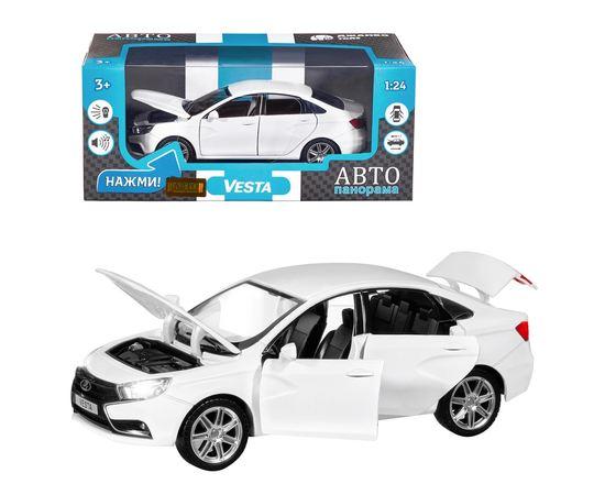 Коллекционные машинки Модель  LADA VESTA Автопанорама Модель 1251126JB 1:24 tm-19-9004 купить в твоимодели.рф