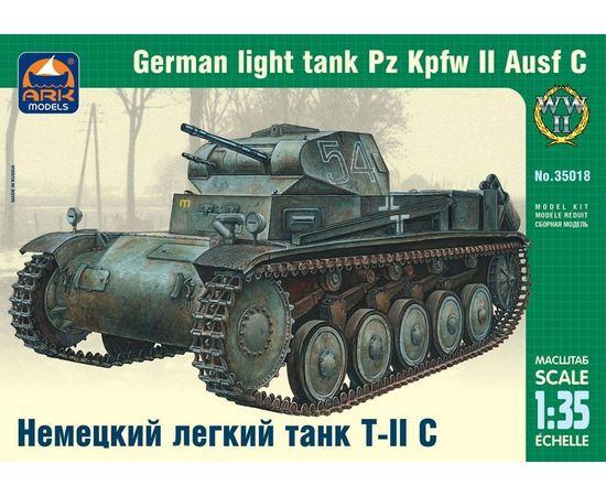 Склеиваемые модели  ARK35018 Немецкий легкий танк Т-II C немецкий лёгкий танк 1/35 tm-19-8840 купить в твоимодели.рф