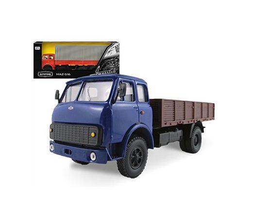 Коллекционные машинки Модель МАЗ-5335 Гражданский Autotime Collection 65095 1:43 tm-19-8999 купить в твоимодели.рф