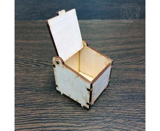 Изделия из дерева (фанеры) Коробочка из дерева для хранения различных мелких предметов tm-19-9297 купить в твоимодели.рф
