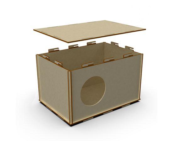 Изделия из дерева (фанеры) Маточник для кроликов из дерева (фанера 6мм) tm-19-9298 купить в твоимодели.рф