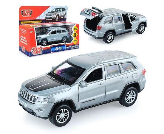 Коллекционные машинки Модель Автомобиля JEEP GRAND CHEROKEE 1:43 Технопарк tm-19-9290 купить в твоимодели.рф