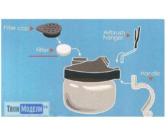 Необходимое для моделей JAS 1721 Фильтр воздушный сменный к очистителям 1601, 1602 tm00988 купить в твоимодели.рф