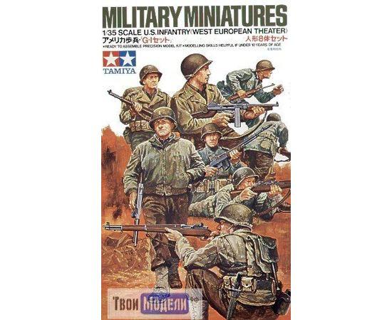 Склеиваемые модели  Tamiya 35048 Американские пехотинцы tm01447 купить в твоимодели.рф