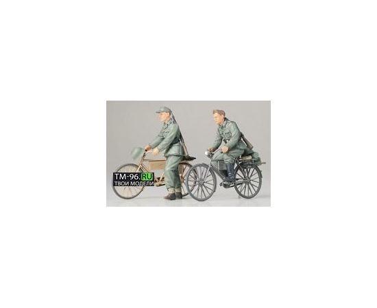 Склеиваемые модели  Tamiya 35240 Немецкие солдаты на велосипедах tm01459 купить в твоимодели.рф
