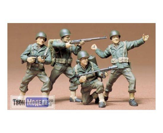 Склеиваемые модели  Tamiya 35013 Американский пехотинцы в атаке tm01448 купить в твоимодели.рф