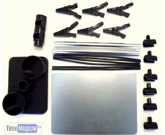 """Необходимое для моделей JAS 1351 Подставка-держатель для окрашивания деталей """"Паук"""" tm00991 купить в твоимодели.рф"""