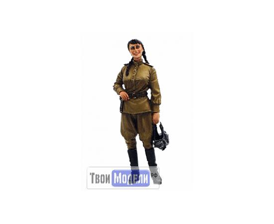 Склеиваемые модели  ТМW-127 Советская женщина Второй мировой войны 1/35 [СМОЛА] tm01478 купить в твоимодели.рф
