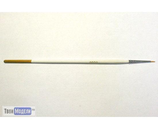 Оборудование для творчества JAS 3605 Кисть круглая № 0 (нейлон) tm01052 купить в твоимодели.рф