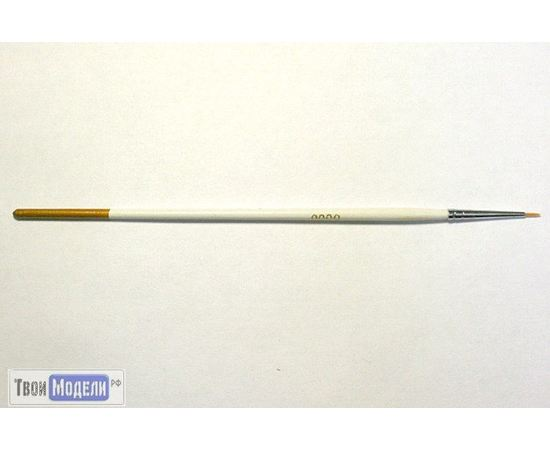 Оборудование для творчества JAS 3608 Кисть круглая № 3 (нейлон) tm01045 купить в твоимодели.рф