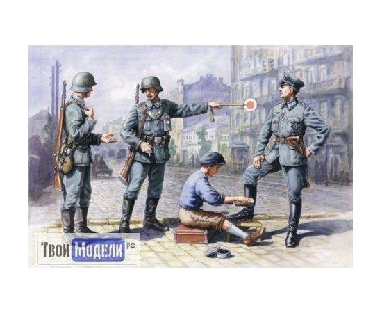 Склеиваемые модели  ICM 35561 Германский патруль (1939-1942) tm01383 купить в твоимодели.рф