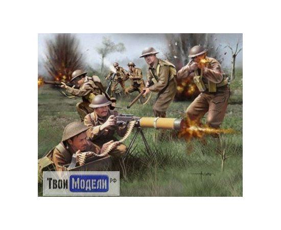 Склеиваемые модели  Revell 02597 Британская пехота. 2-ая Мировая война tm01442 купить в твоимодели.рф
