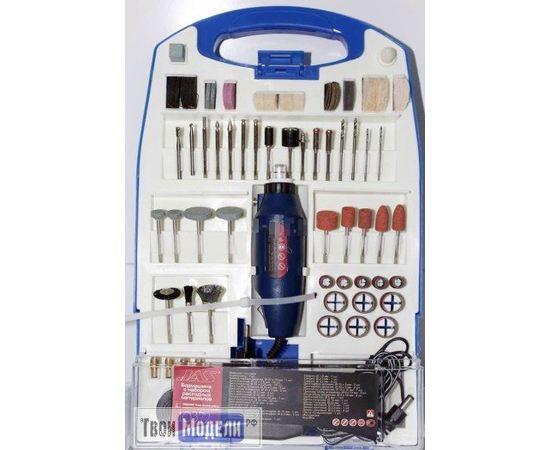 Оборудование для творчества JAS 10372  Бормашина,12 000 об,мин. + 110 предметов tm00940 купить в твоимодели.рф