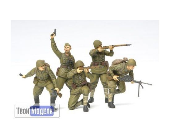 Склеиваемые модели  Tamiya 35311 Советские пехотинцы 1941- 1942г. tm01467 купить в твоимодели.рф