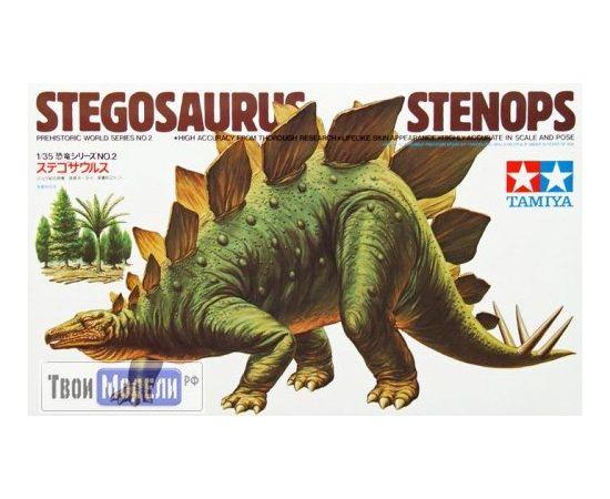 Склеиваемые модели  Tamiya 60202 Стегозавр в масштабе tm01444 купить в твоимодели.рф