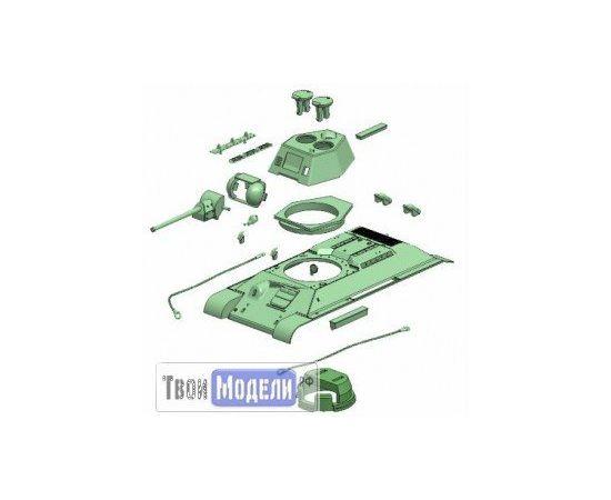Склеиваемые модели  zvezda 5001 Звезда Т-34/76 Советский средний танк tm01218 купить в твоимодели.рф