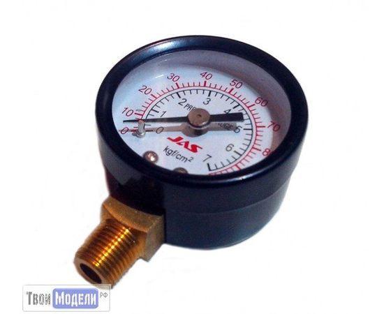Необходимое для моделей JAS 1801 Манометр для компрессора 0-7 кг/см2 tm00992 купить в твоимодели.рф