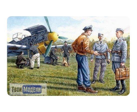 Склеиваемые модели  ICM 48085 Наземный персонал ВВС Германии 1939-1945 tm01307 купить в твоимодели.рф