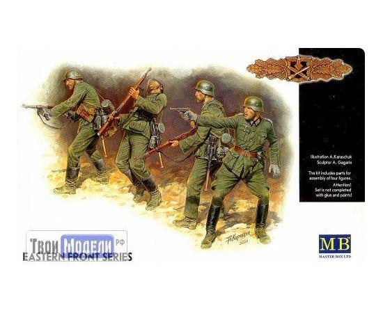 Склеиваемые модели  Master Box 3522 Фигуры Немецкая пехота 1941-1942 tm01491 купить в твоимодели.рф