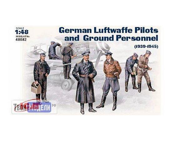 Склеиваемые модели  ICM 48082 Немецкие пилоты и техники Люфтваффе tm01293 купить в твоимодели.рф