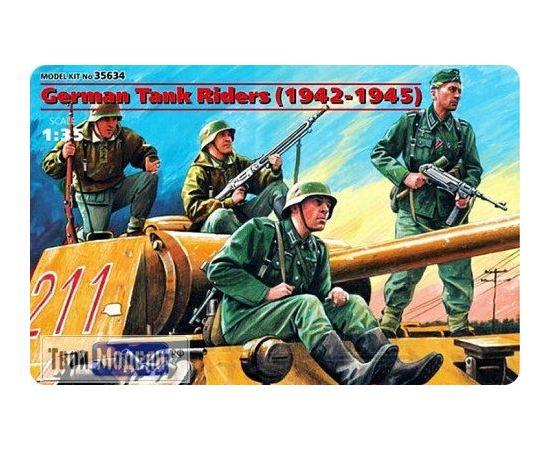 Склеиваемые модели  ICM 35634 Германский танковый десант 1942-1945 tm01303 купить в твоимодели.рф